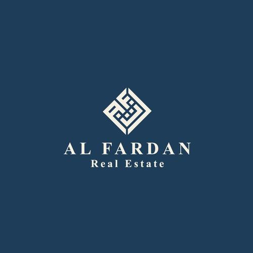 Real estate logo for AL-FARDAN Company