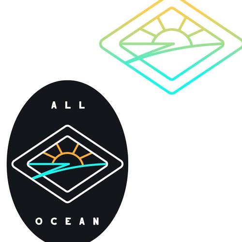 Logo for marine merchandise brand