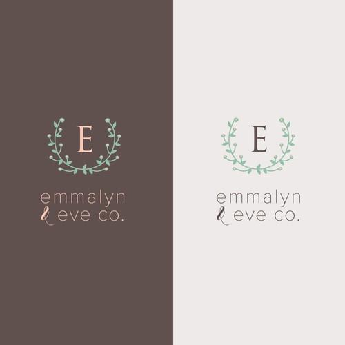 feminine logo for custom giftware brand
