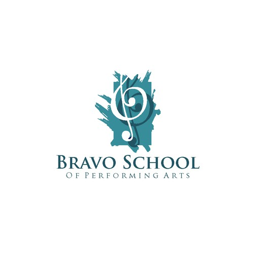 Bravo School Of Performing Arts logo