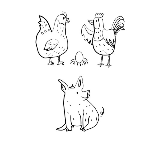 Character design for childrens book
