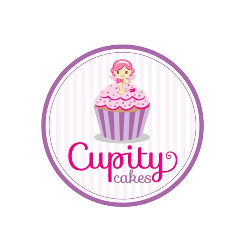 Logo design for cupity cakes