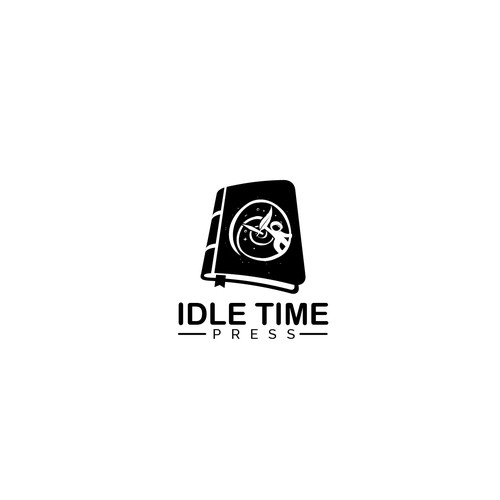 Logo Concept for Idle Time Press