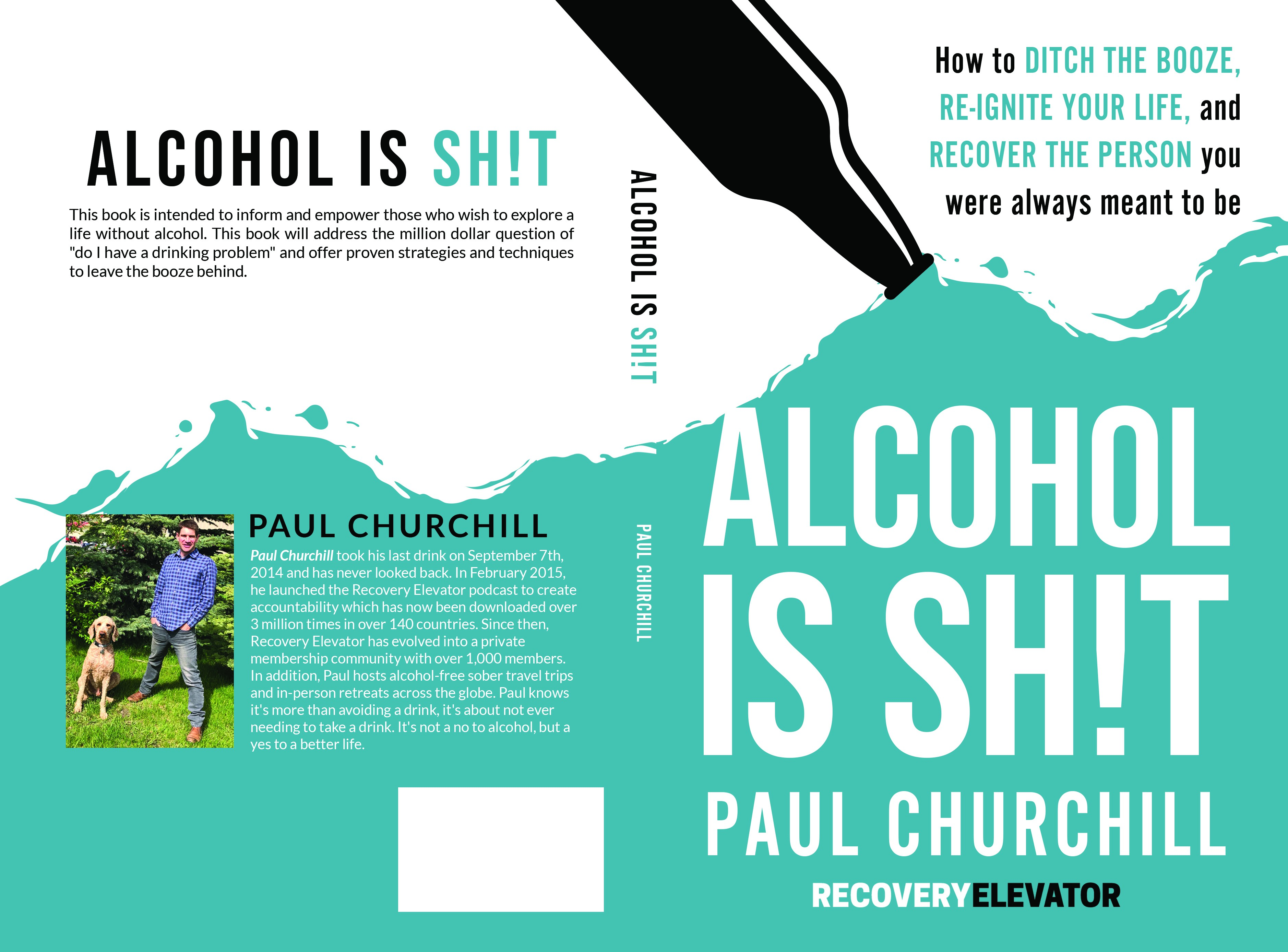 Alcohol is SH!T... Help readers who struggle with alcohol, ditch the booze!