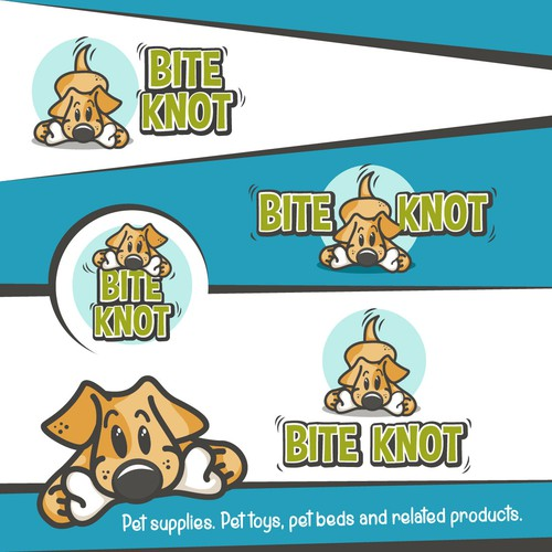 "Logo design for - Pet supplies ""BITE KNOT"""