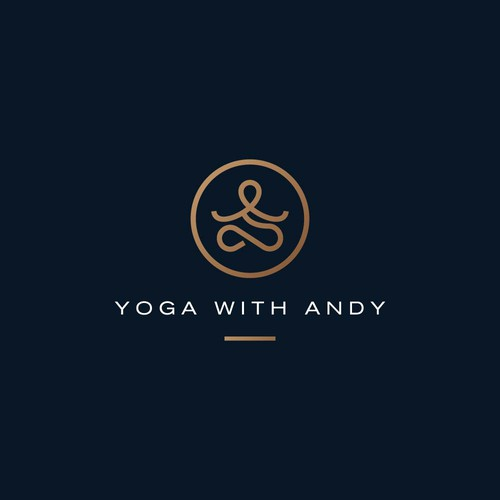 Logo Design for Yoga with Andy