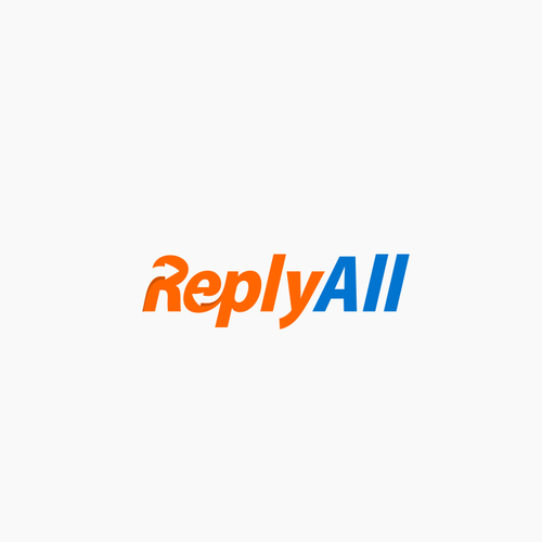 ReplyAll Design a logo for an online email service.