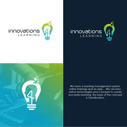 Modern logo for Innovation for learning