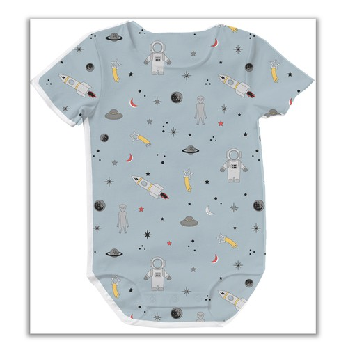 Fabric print for children