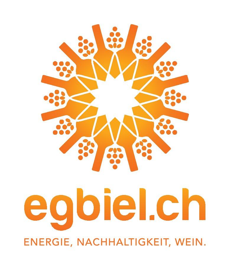 www.egbiel.ch braucht ein Logo, dass unseren Aufbruch zur nachhaltigen Energieproduktion zeigt