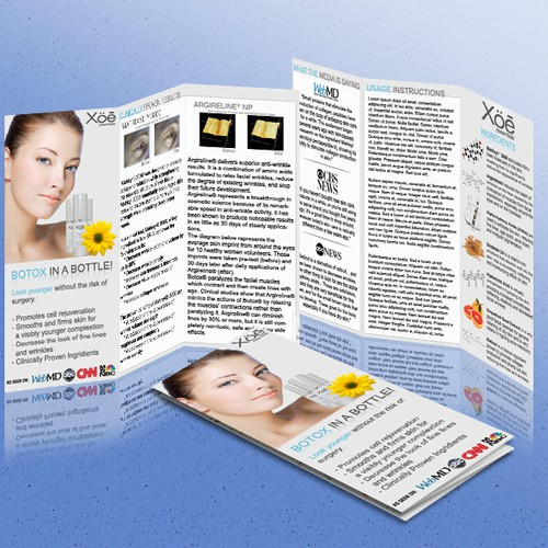 Beauty Product Brochure