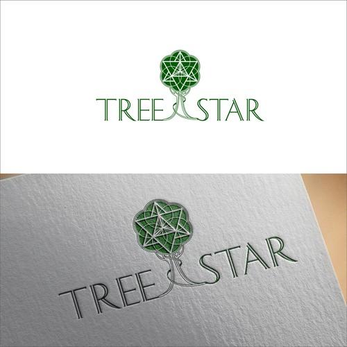 Sacred geometry cannabis branding logo