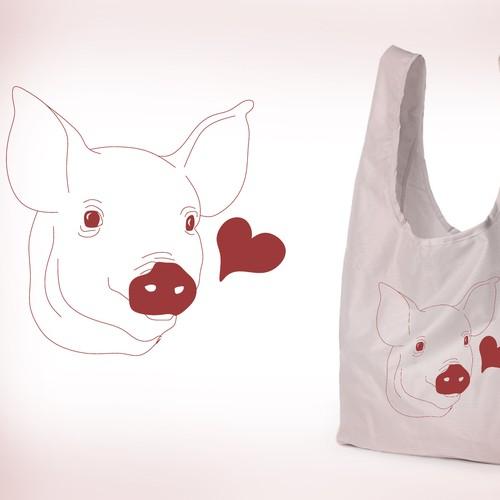 The Tote-Bag-Piggy