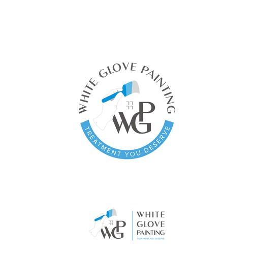 White glove painting