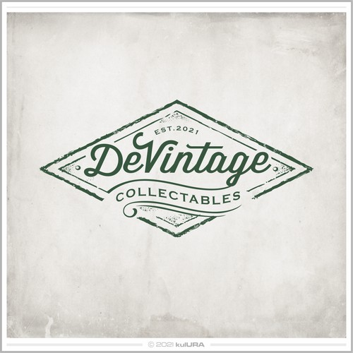 Logo for vintage collectables