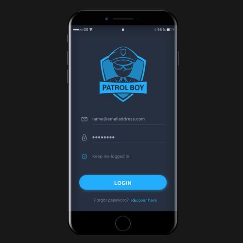 app for Mobile Patrols