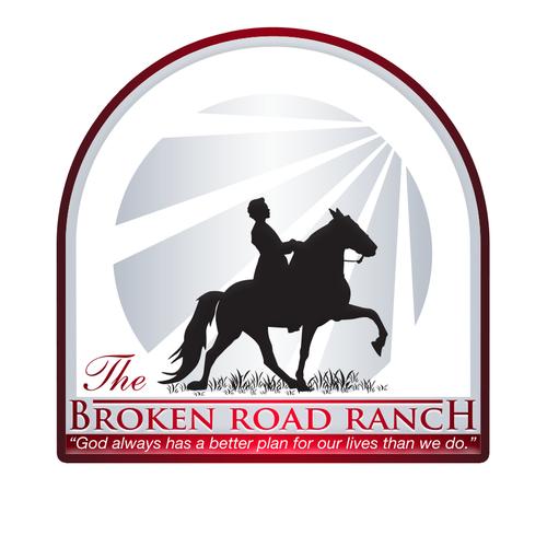 The Broken Road Ranch Logo