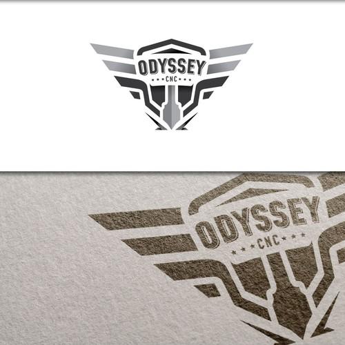 ODYSSEY CNC Logo Redesign