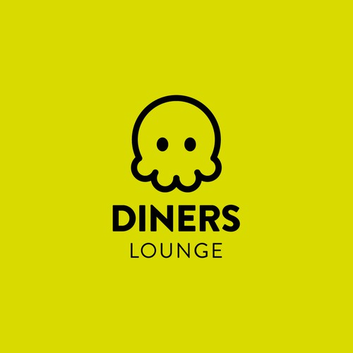 Logo design for Diners Lounge