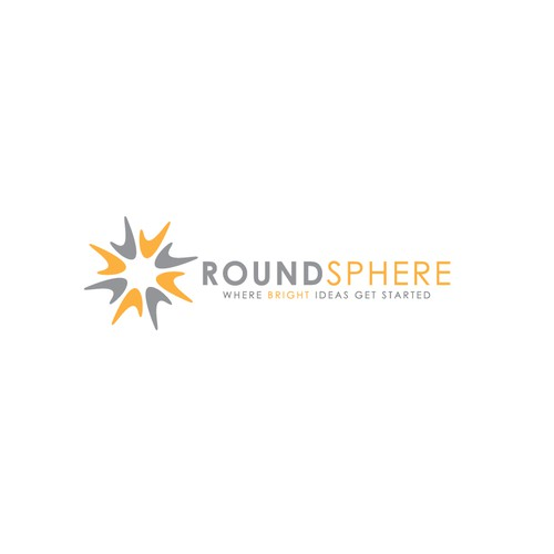 Creative & modern logo for RoundSphere, an entrepreneurial technology company