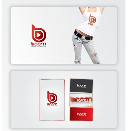 New Logo for Boom Digital Media Group