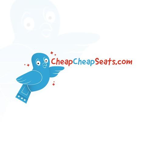 CheapCheapSeats.com Logo Design 2