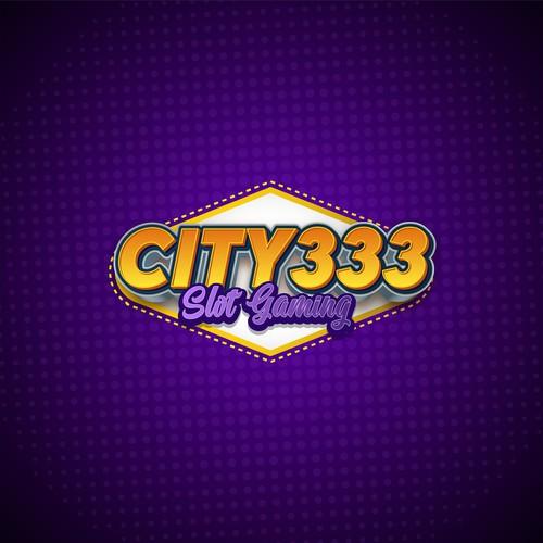 City 333 slot gaming logo