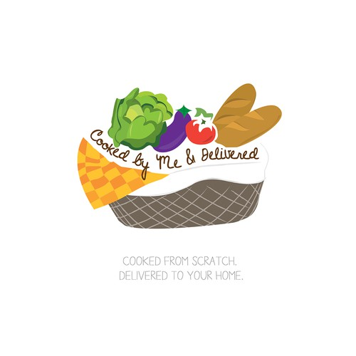 Create a winning logo and business card design for Cooked