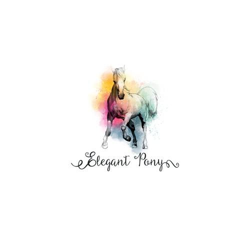 Elegant pony