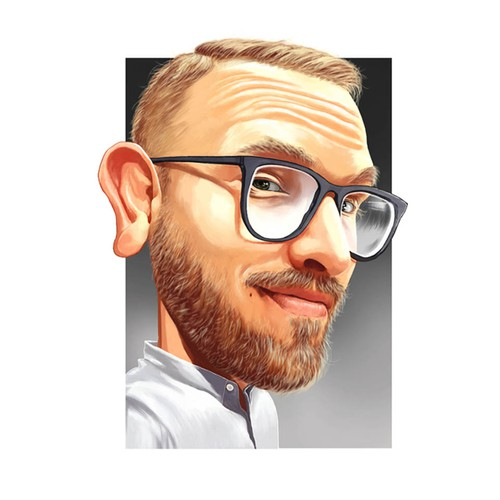 Caricature for Social & Podcast