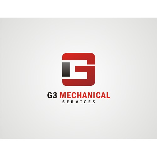 logo for G III mechanical services or G 3 mechanical services