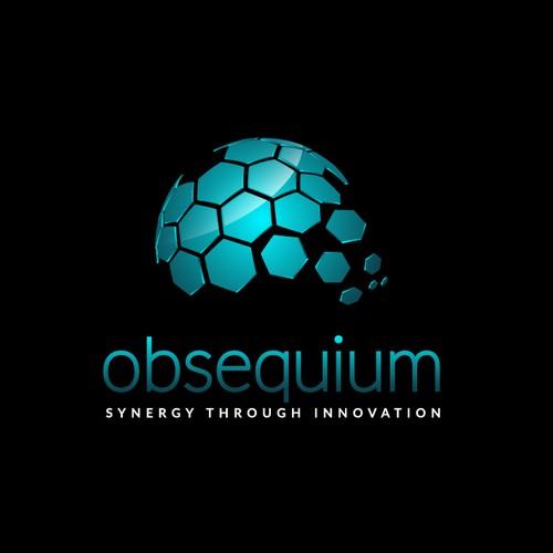 3D logo concept for obsequium