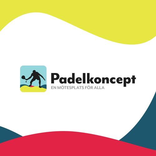 Logo for padelcenter