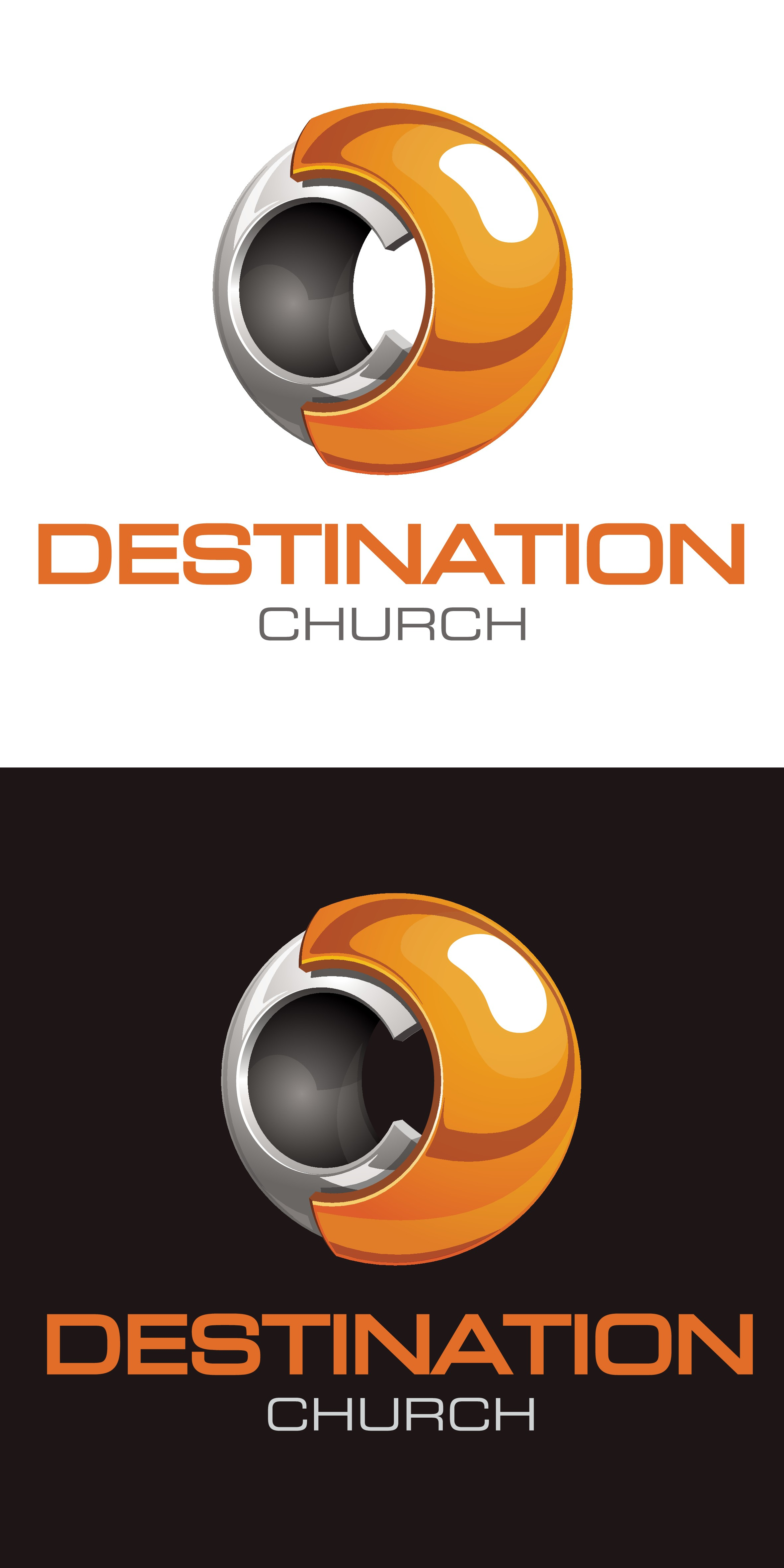 """Design an """"eye catching"""" logo for a church designed for people that don't go to church"""