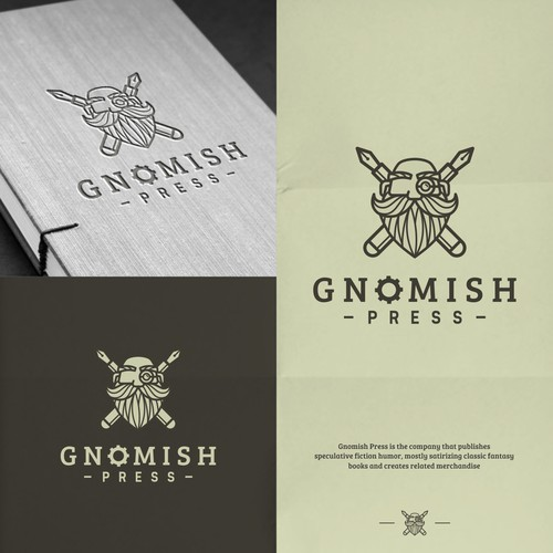 Gnomish Press Logo Design
