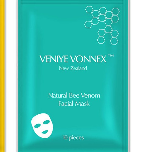 Face mask packaging label