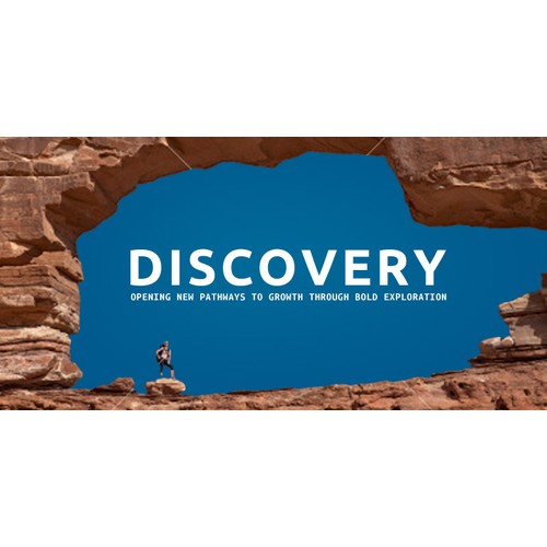 Create the Main Brand Image for Discovery, an Innovative Industry-Changing Company!