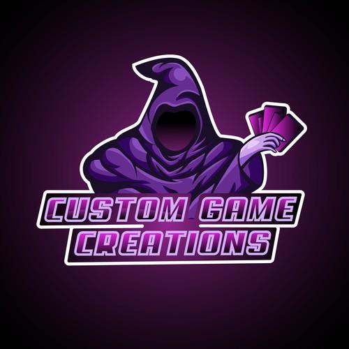 Custom Game Creations Logo Concept