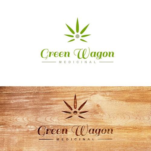 Logo concept for medicinal cannabis store