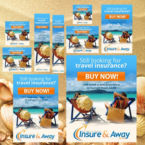 Help Holiday & Travel Insure & Away with a new banner ad