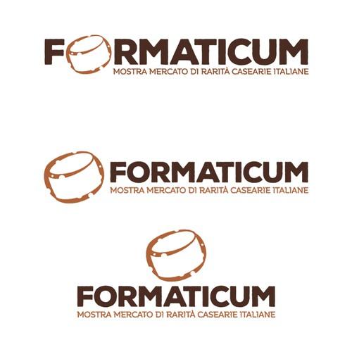 Logo per una Mostra di Formaggi Italiani