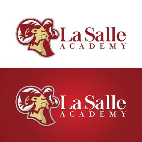 High School Mascot Logo