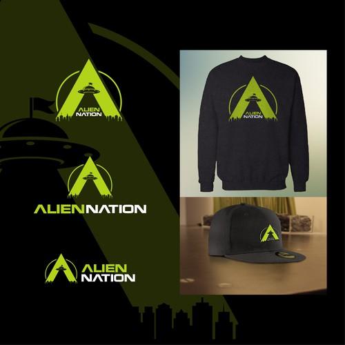 Alien nation logo design