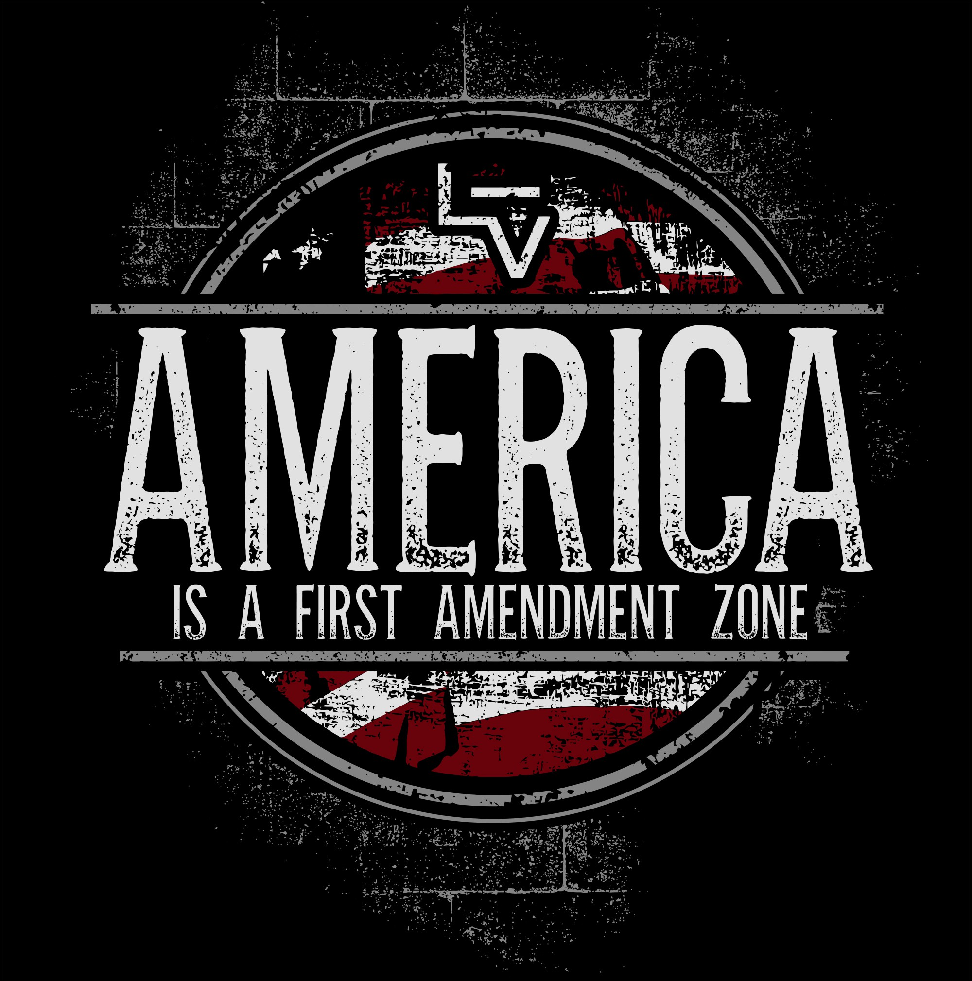 Retro First Amendment T-Shirt design needed for a good cause!