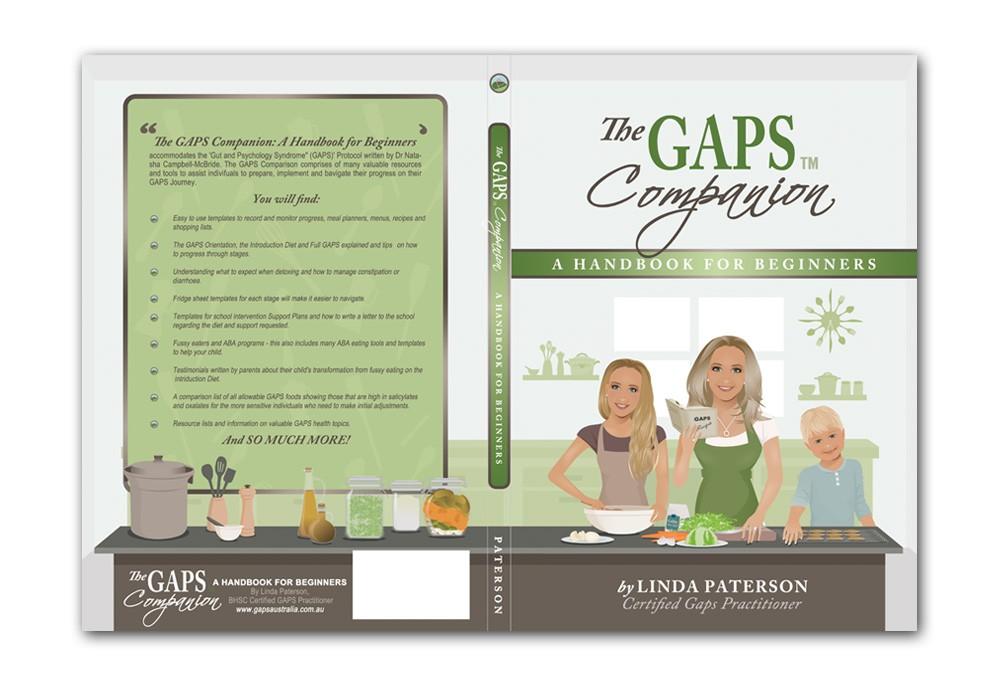 Create the next book or magazine cover for GAPS Australia