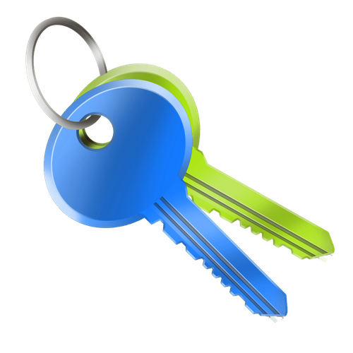 Key icon or button