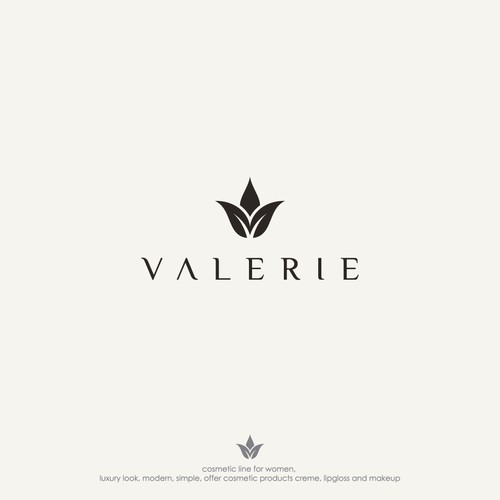 New Logo for Cosmetic Line Valerie
