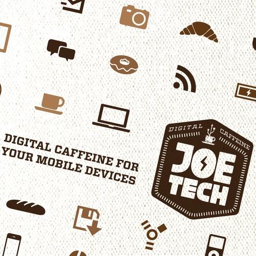 Help Joe Tech with a new logo