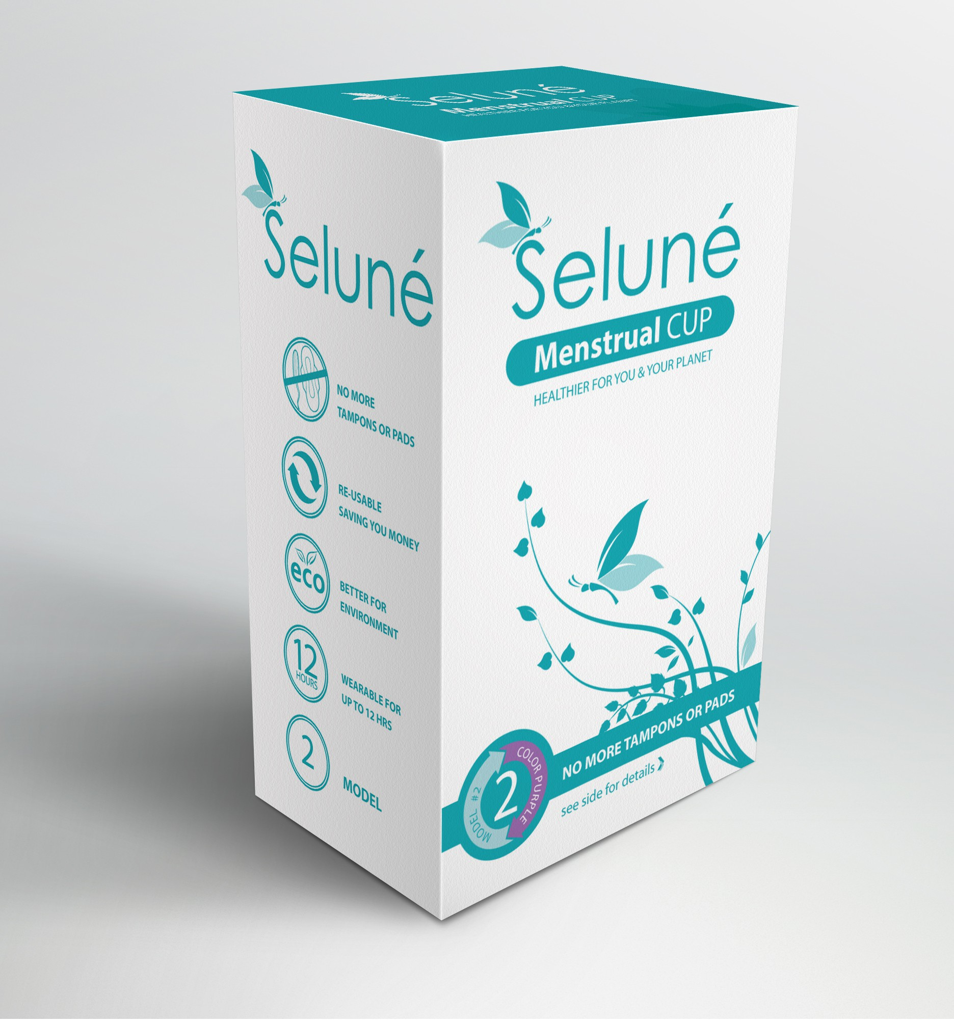 Create packaging for a  Womens Healthcare and Cosmetic Product