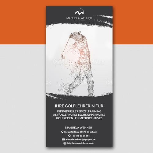 Flyer For M.Wehner Golf